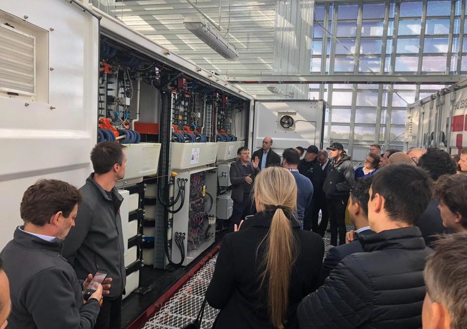 Official Open Day for Australia's largest C&I energy storage system