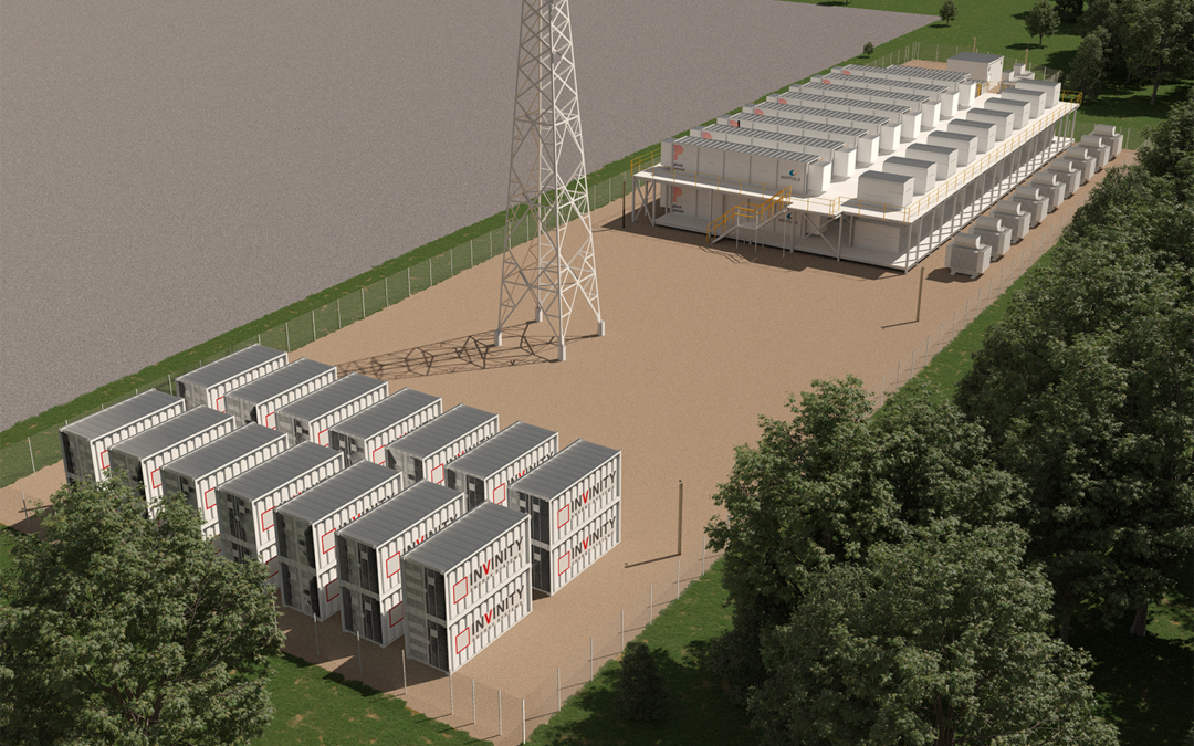 Building a World First: Largest Flow Battery in the UK