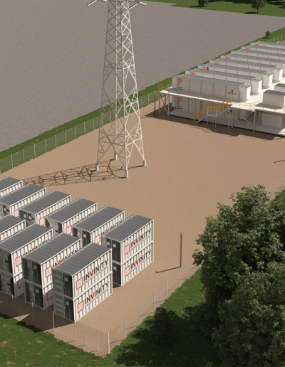 UK's largest flow battery at Energy Superhub Oxford