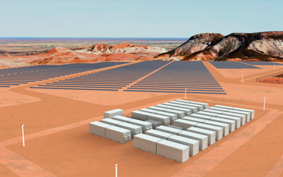 Creating Australia's first dispatchable solar power plant
