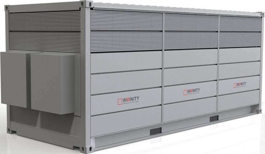 Vanadium flow battery - Invinity